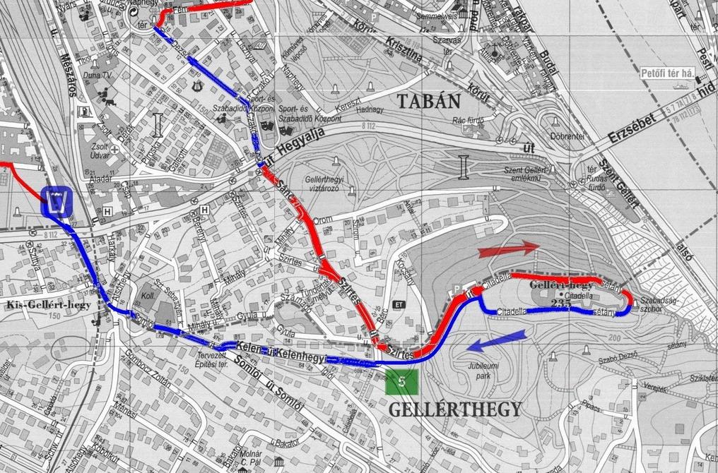 budapest libegő térkép Vár a Hármas, budapesti hegyi maraton budapest libegő térkép